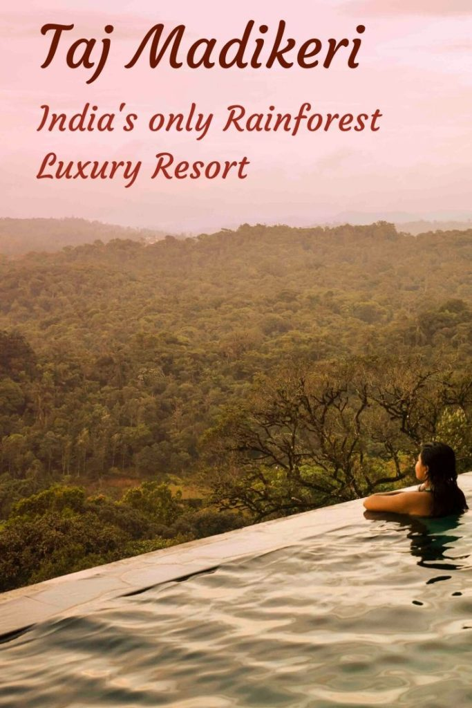 The most beautiful Infinity pool looking over Madikeri rolling hills! Indian Monsoon is lush green and a brings in joys of new life on Earth! Where else but the Western Ghats promise the most beautiful monsoon experience in India> That too, double with the iconic property of Taj? The Taj Madikeri Spa and Resort: A detailed Review!  #coorg #karnataka #hillstation #indianhillstation #indiatravel #southindia #monsooninindia #weekendgateway #travelindia #offbeatindia #madikeri #sparesort #bangalore #wellnessresort #rainforest #tajhotel #romantic #honeymoondestinations