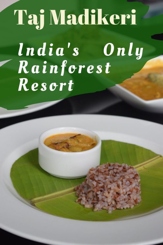 Plethora of food at the Taj Madikeri! Pandicurry. #pandicurry  Indian Monsoon is lush green and a brings in joys of new life on Earth! Where else but the Western Ghats promise the most beautiful monsoon experience in India> That too, double with the iconic property of Taj? The Taj Madikeri Spa and Resort: A detailed Review!  #coorg #karnataka #hillstation #indianhillstation #indiatravel #southindia #monsooninindia #weekendgateway #travelindia #offbeatindia #madikeri #sparesort #bangalore #wellnessresort #rainforest #tajhotel #romantic