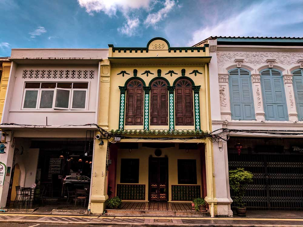 Things to do at Old Phuket Town: Offbeat experience in Phuket. Exploring the old buildings of Phuket Town.