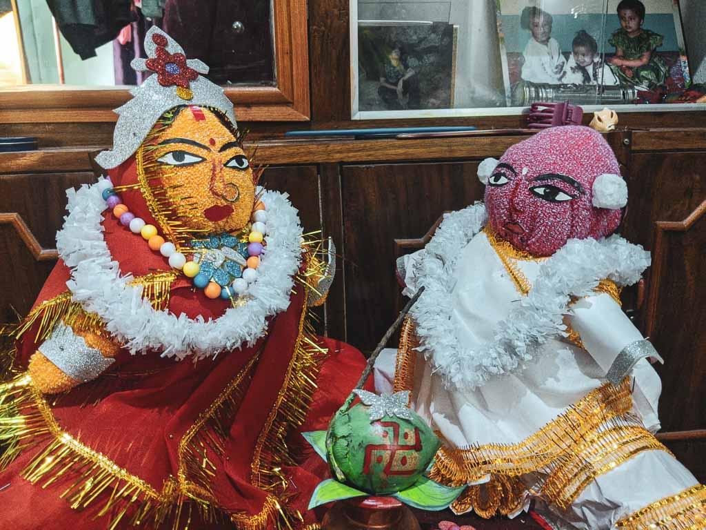 Bengali wedding Totwo decoration idea