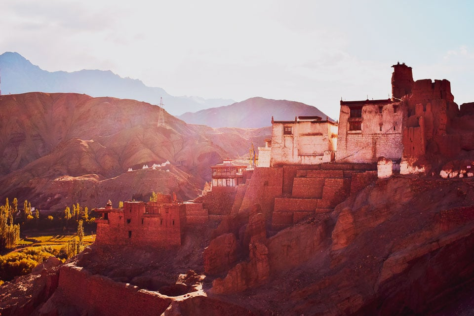 Basgo Monastery, beautiful places in India: offbeat places in Ladakh
