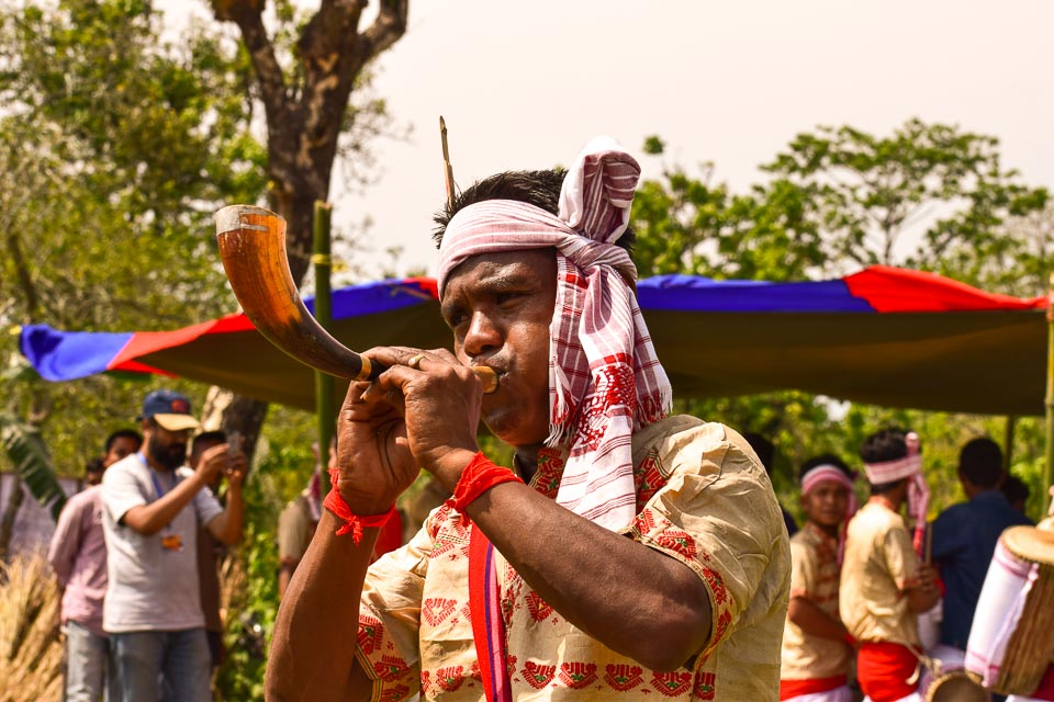 Pepa: One of the musical instruments of Bihu dance, assam