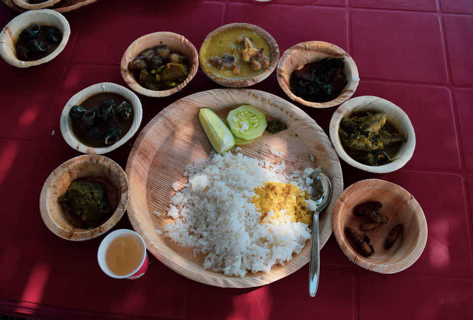 A taste of Authentic Bodo Cuisine at Manas National Park, Assam!