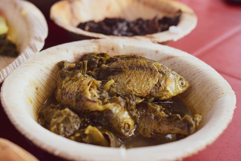 Puti Mach in Assamese cuisine