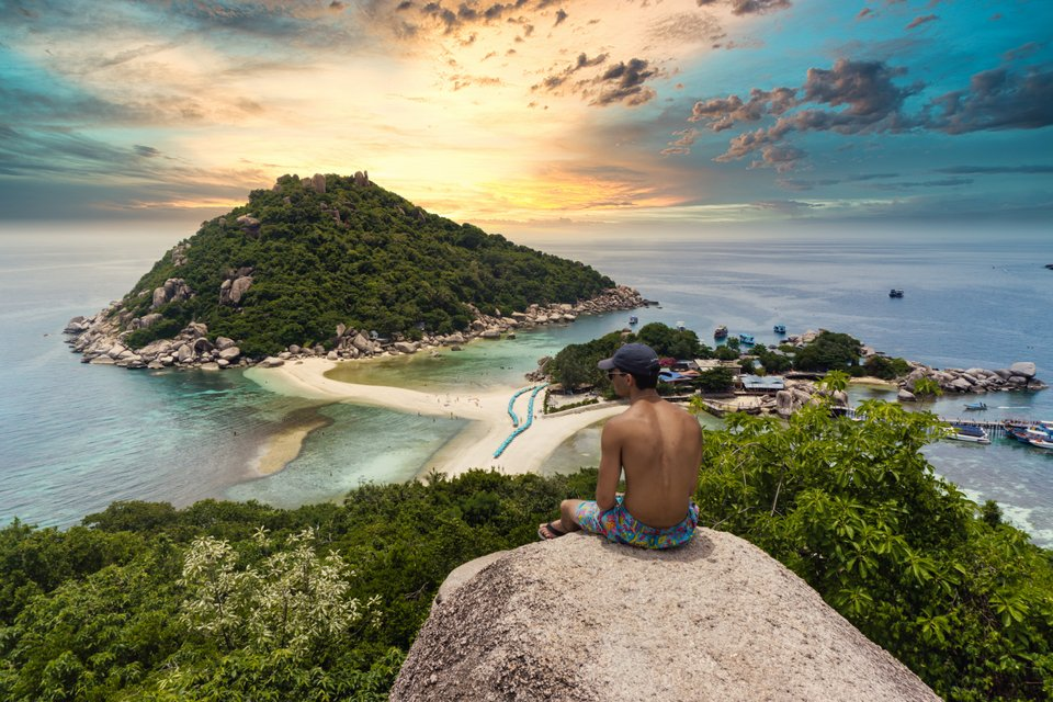 koh nang yuan best beaches in Thailand