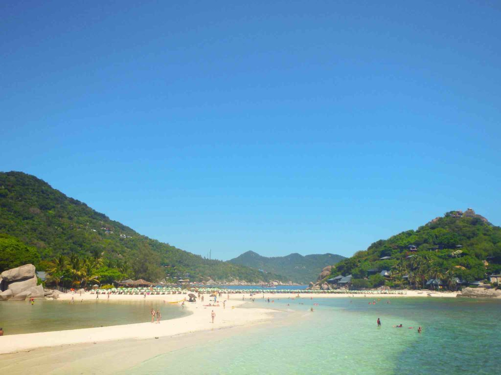 nang yuan island: the best beaches of Thailand
