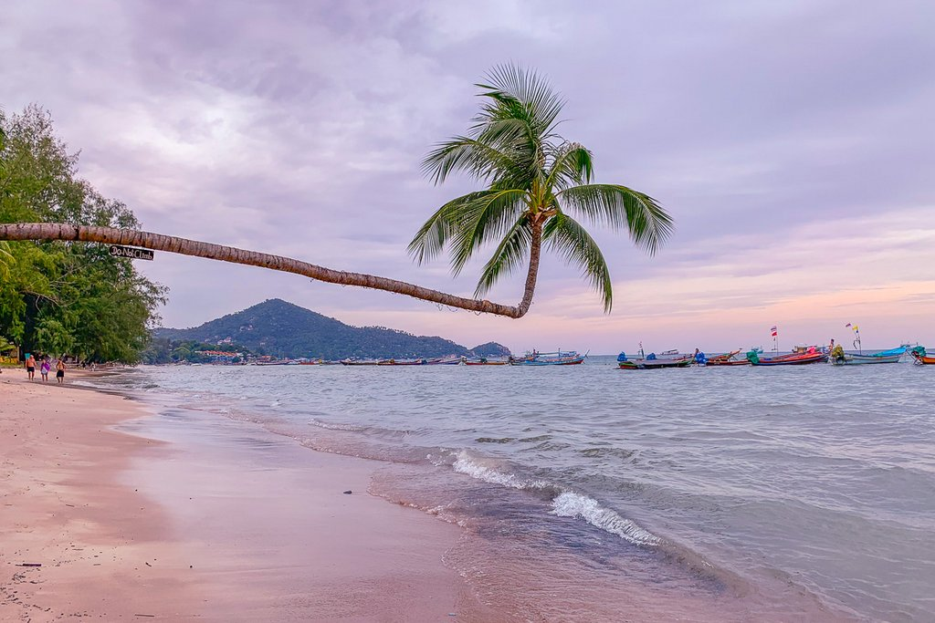 Sairee Beach from Koh Tao  beach: One of the best beaches in Thailand