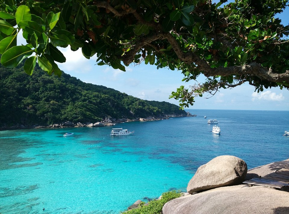 Similan Island: the best diving spot in Thailand and one of the best quiet beaches in thailand
