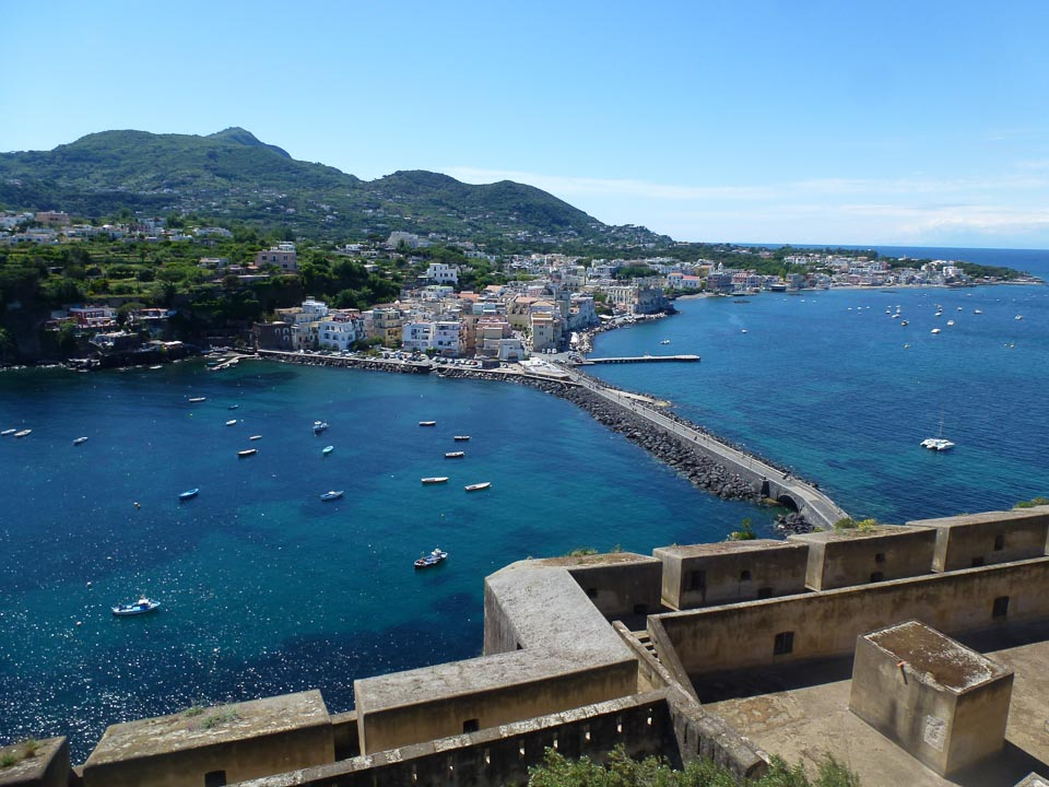 Ischia is one of the most beautiful coastal town in Italy
