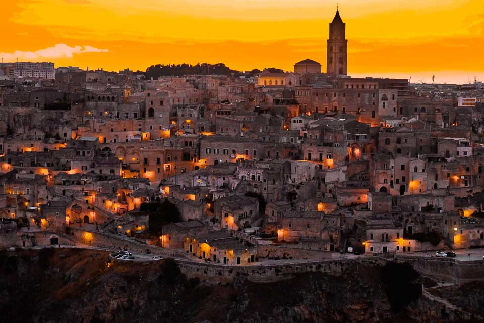 Matera: UNESCO world Heritage City of Italy: the best places to visit in Italy