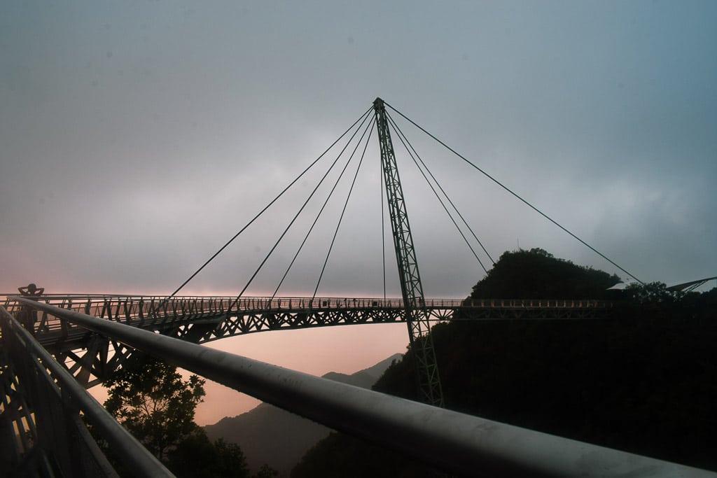 SKywalk in langkawi, malaysia in two weeks for honeymooners