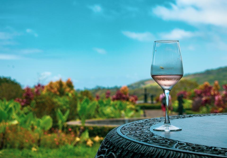 Litchi wine of Mauritius