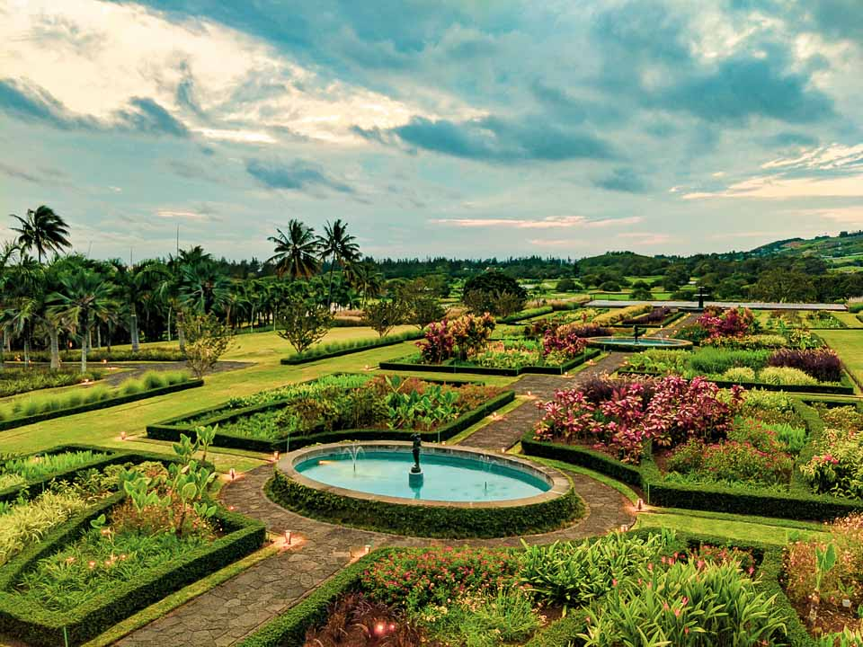 landscaped gardens at bel Ombre, Mauritius