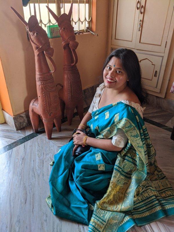 ARt work of India. Folk art of Bankura. #bankura #folkart #indianfolkart #indiandoll #terracottadolls #claydolls #beautifuldolls #horse #horseinfolklore #tribalartofindia #dhokraart #dhokraindia