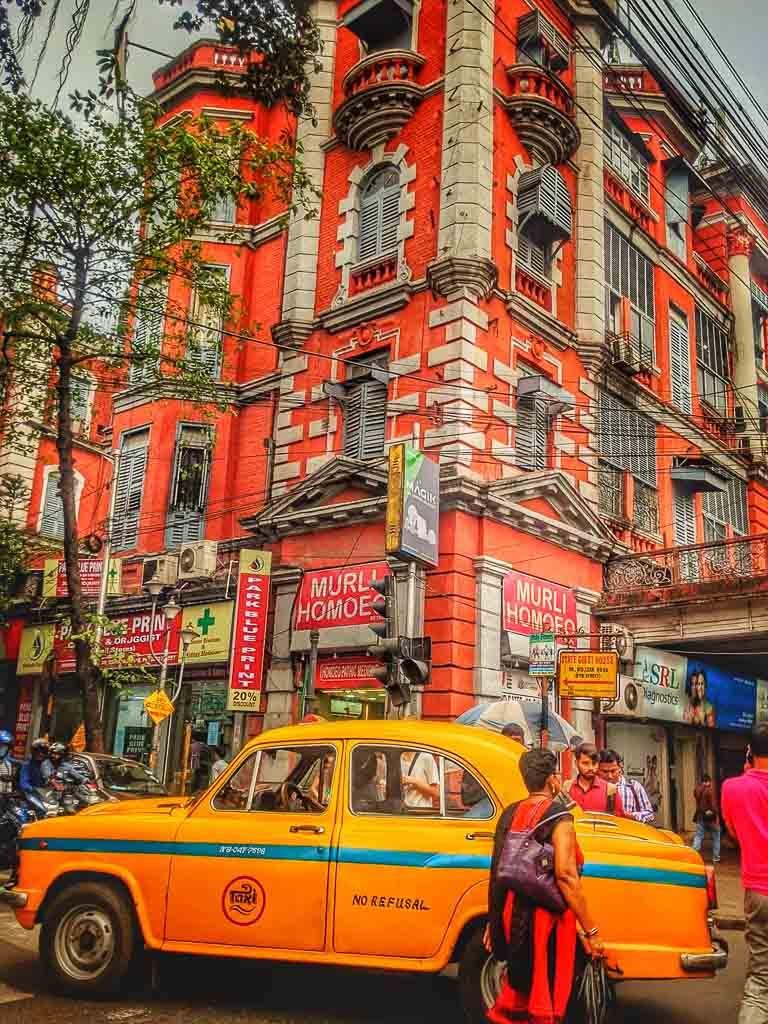 Streets of Kolkata, India