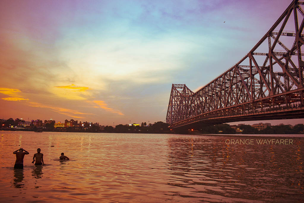 Howrah Bridge candid shot