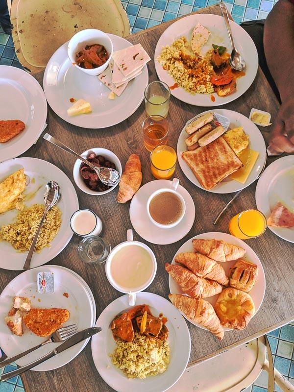 Breakfast buffet at the resorts world Langkawi
