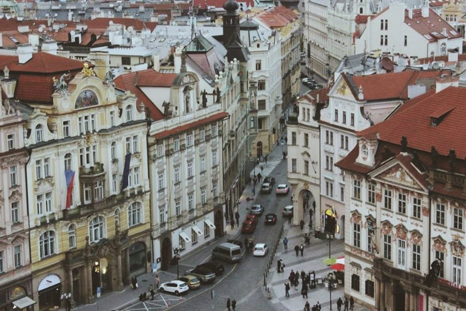 beautiful city of Prague