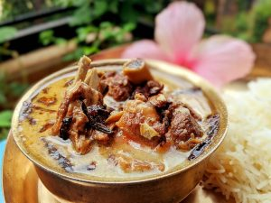 Ab Gosht: Kashmiri meat recipe with lamb/mutton/beet