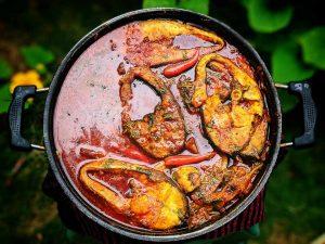 Bhetki macher Kaliya recipe (bengali style seabass recipe)