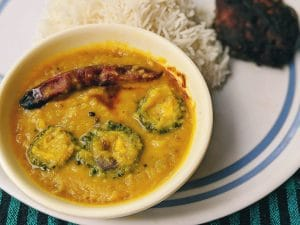 Tetor daal: Daal cooked with bitter gourd