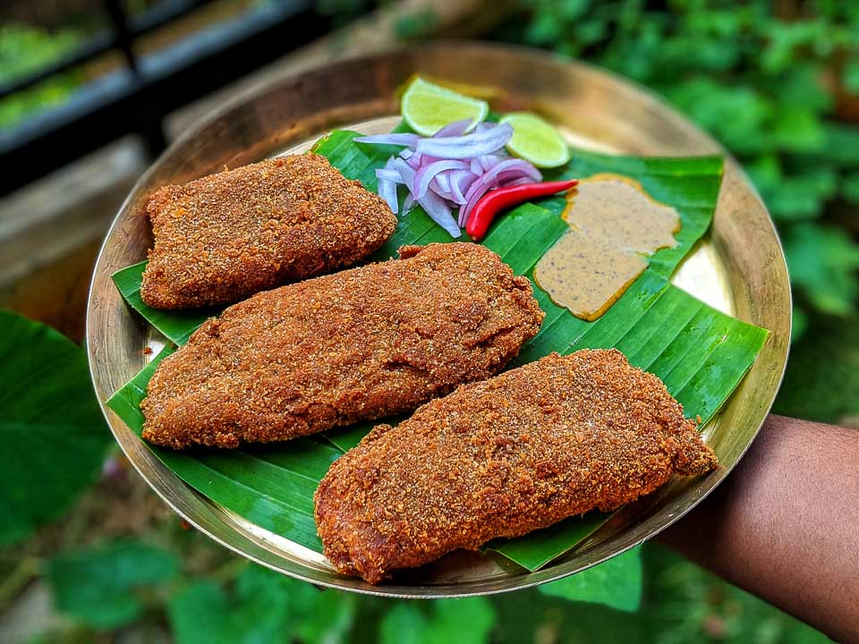 Mitra Cafe Styled Bhetki Fish Fry Recipe from Kolkata and other Stories
