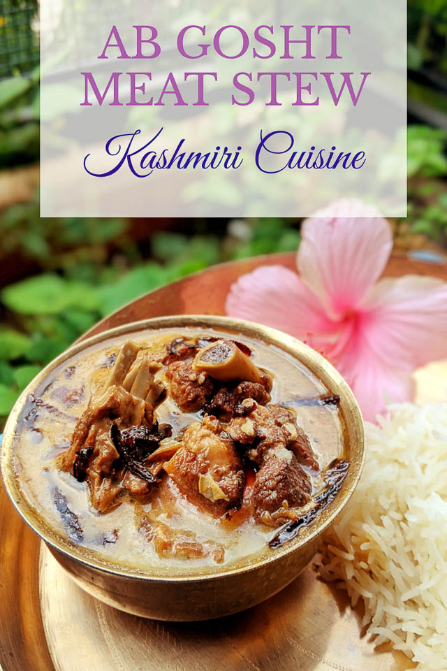 Ab gosht from Kashmir. Kashmiri cuisine. Indian cuisine. Muslim cuisine. Halal recipe. #abgosht #kashmiricuisine #kashmirimeatdish #i ndianmeatrecipe #persianmeatrecipe #iranianrecipe #meatstew #muttonrecipe #lambrecipe #kashmirimeatstew #northindianmeat #meatlovers #saffron #goshtrecipe #halalfood