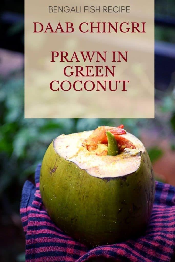 Daab chingri. Prawns in coconut shell. Prawns in green coconut shell. bengali fish curry. bengali prawn curry. Thakur barir ranna. Prawn recipe. Fish recipe. Bengali recipe. Bengali festive recipe! #bengalirecipe #prawnrecipe #prawnrecipe #prawnwithcoconut #prawningreencoconut #bengalifishcurry #bengaliprawncurry #prawnincoconutmilk #Indianrecipewithprawn #daabchingri