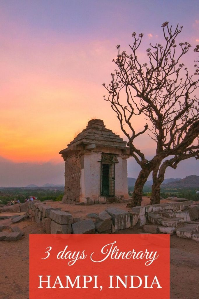 hampi travel guide. Things to do in Hampi. Hampi places to stay hampi places to visit. hampi in 3 days. Weekend gateway from bangalore. temple town in India. 3 days in Hampi. Things to do in Hampi. Hampi travel guide. Hampi travel blog. Vittala temple in hampi. Musical pillars in temple in India. Vijayanagara empire. hampi travel guide for solo women travel. Things to do in Hampi for 3 days.  #hampi #unescoheritagesiteinindia #karnataka #indiatraveldestinations #southindiatravel #indiantempletowns