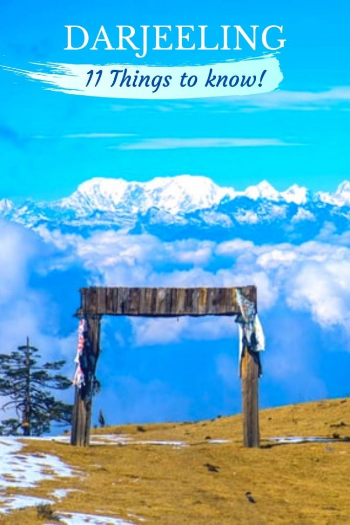 Planning a trip to Darjeeling and looking for offbeat destinations in North bengal. In love with the himalayan hamlets? He is a guide with all the travel details to explore India's beautiful hill town!  #darjeeling #westbengal #india #indianhimalaya #mountains #himalaya #honeymooninindia