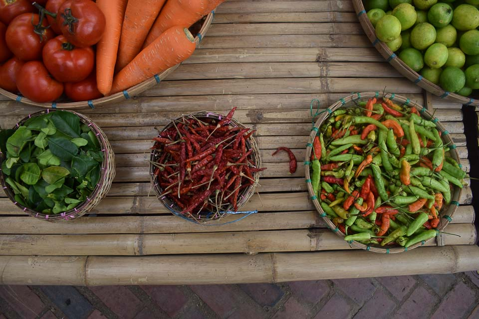 local food in Luang Prabang Laos