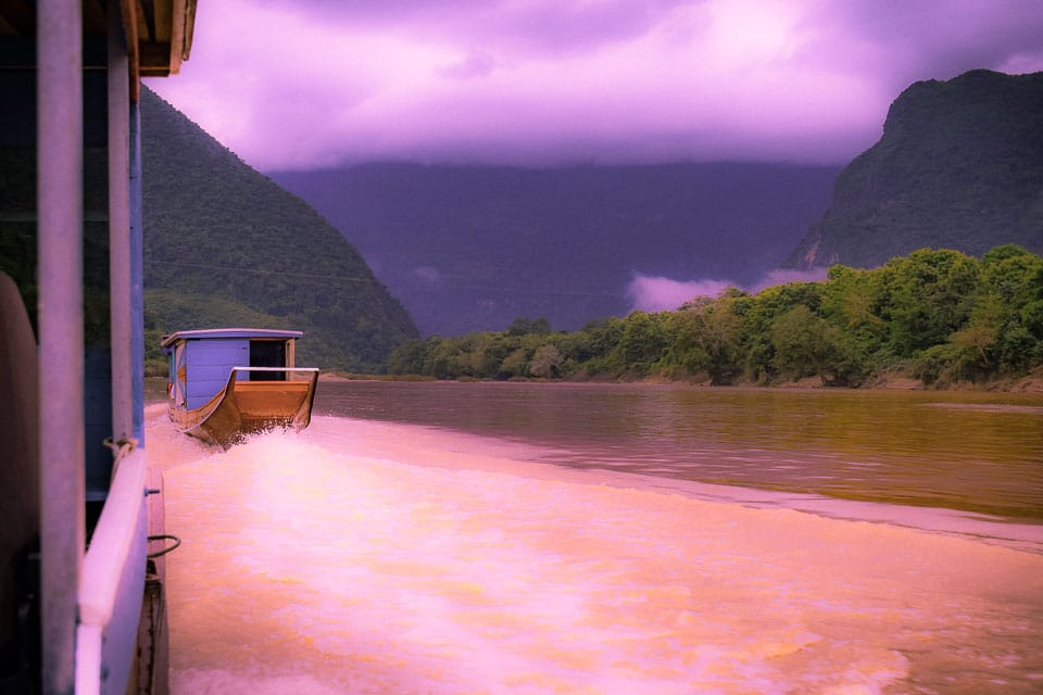 Nam Ou river day tours from Luang Prabang