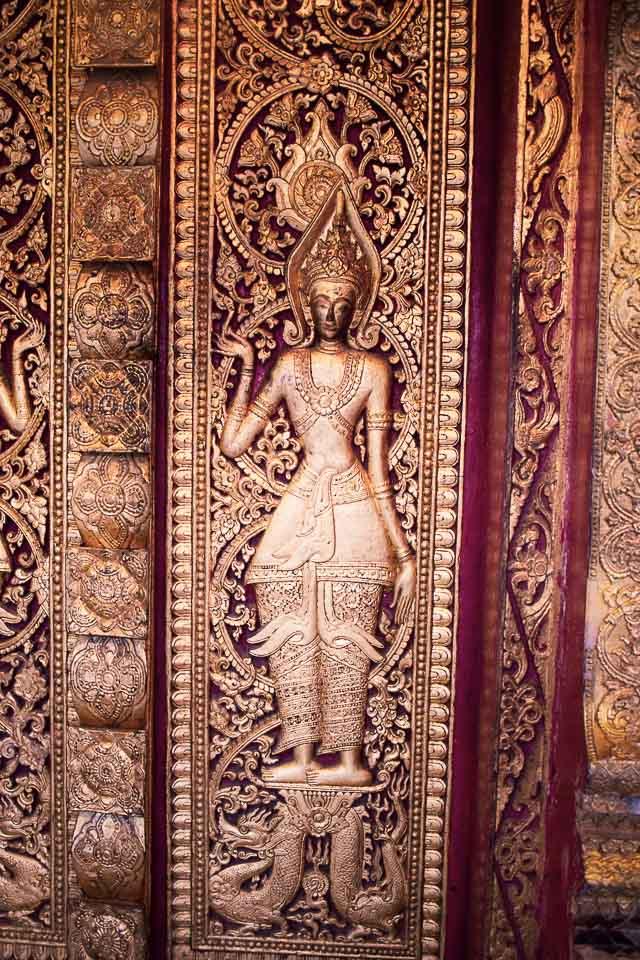 Old temples of Luang Prabang