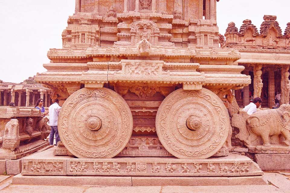 The Hampi chariot: UNESCO heritage sites in India