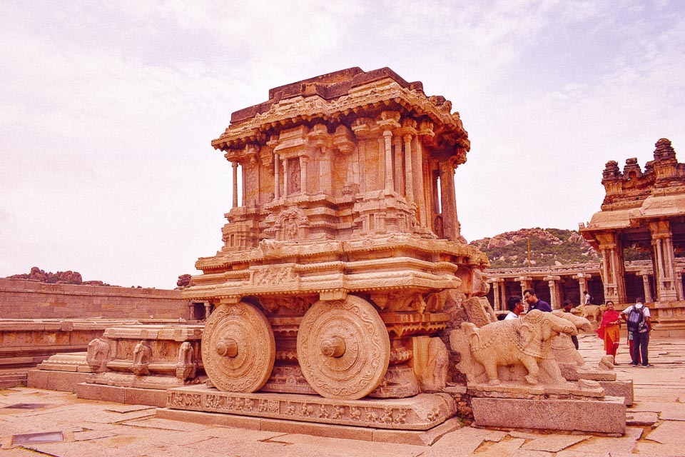 The Hampi chariot: UNESCO heritage sites in India