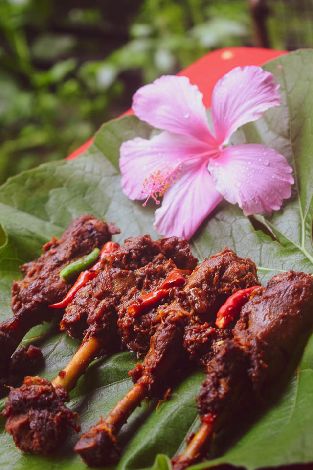 Deshi Murgir Jhol: Kosha Chicken bengali style with country chicken. Deshi Murgi Indian style. Indian style spicy chicken curry with country chicken. Country chicken recipe.