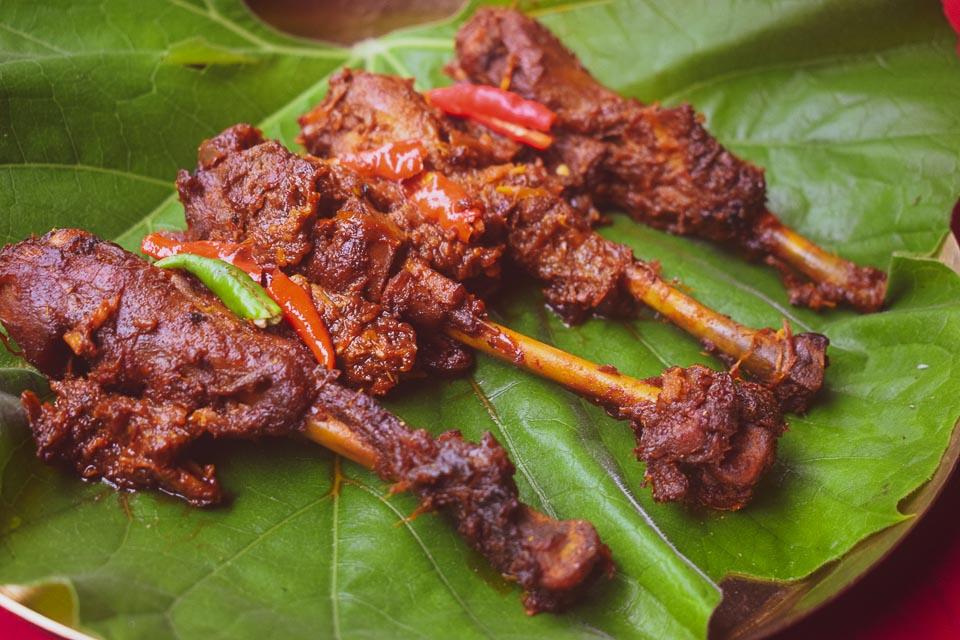 Deshi Murgir Jhol: Kosha Chicken bengali style with country chicken