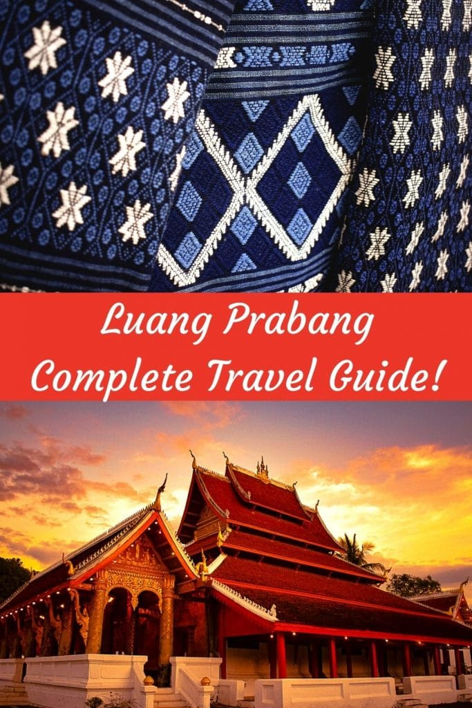 Planning a trip to Luang Prabang Laos? This travel guide will help you plan a trip to the offbeat destination in Southeast Asia that Luang Prabang is. Luang Prabang is a UNESCO world heritage site famous for temples, scenic beauty, mighty Mekong river, Buddhist culture, coffee and beautiful Kuang Si waterfall. Luang Prabang is a must visit destination for a cultural traveler. #luangprabang #laos #kuangsi #honeymooninsoutheastasia