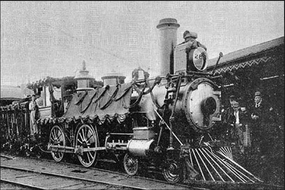 Old Pictures of Toy Train