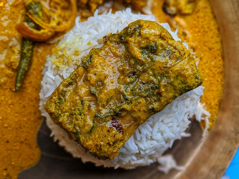 Katla Macher Peti: bengali recipe