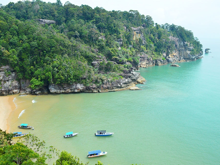 Bako National Park offbeat destinations in Malaysia: Bako national park