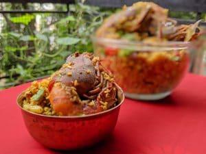 Chingri Macher Polau: Fish Polau bengali style