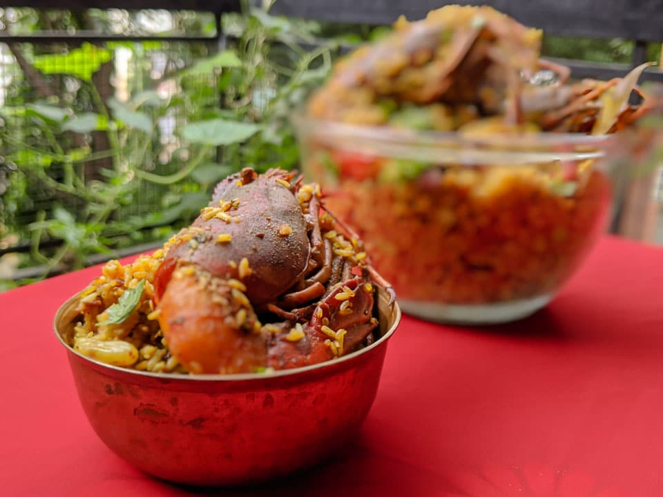 Bengali Prawn Pulao cooked with Golda Chingri: Step by Step Recipe Guide