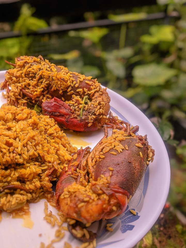 Prawn Pulau. Golda Chingrir Polau. Tiger Prawn Pilaf. Prawn Polau. Tiger prawn Polau. Prawn Pilaf. Indian Pilaf. Indian Rice dishes. One pot meal. Bengali Food. Bengali cuisine.