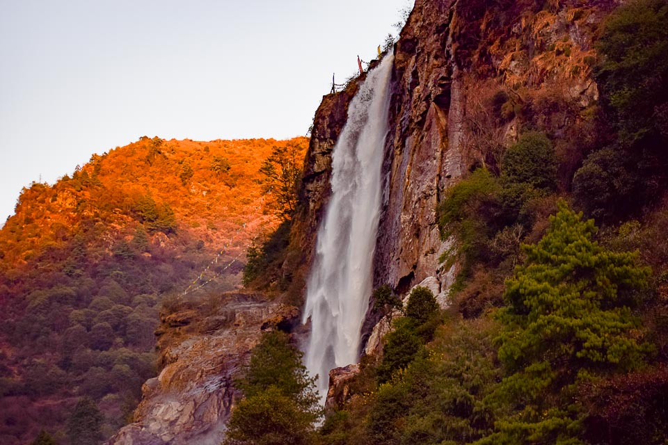 Nuranang waterfall: a fall on the way to Tawang