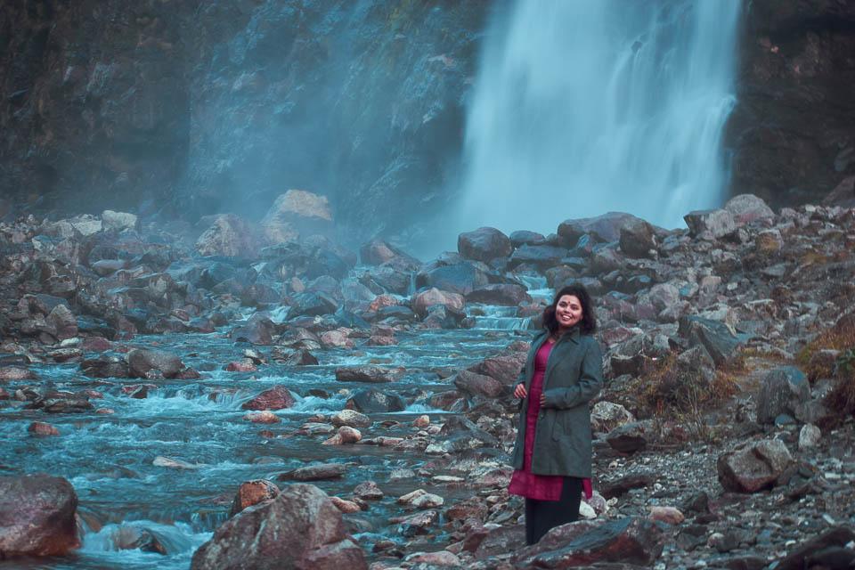 Nuranang Falls, December