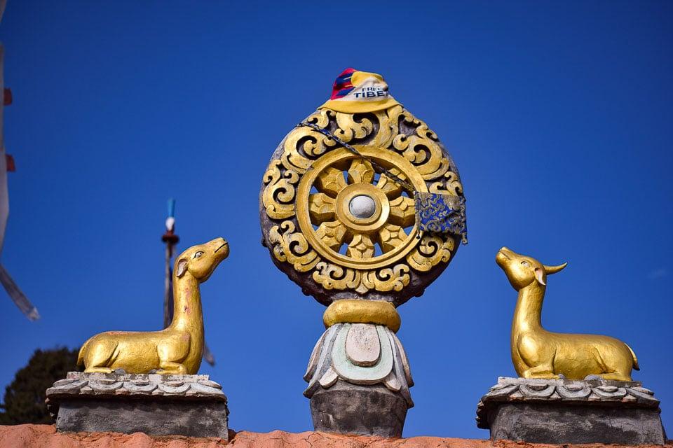 Tawang Monastery: Free tibet movement