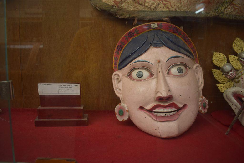 Tibetan Masks at Tawang Monastery
