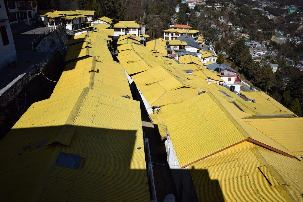 View of Tawang town from Tawang Monastery a photoblog