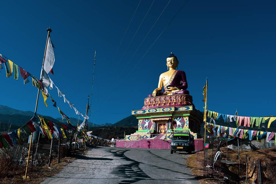 Giant Buddha Statue of Tawang